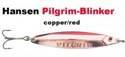 Pilgrim-Blinker 89 mm 28 g copper/red ; kupfer / rot