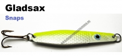 Gladsax Snaps Blinker - 25g - Fluo Gelb / Pealweiß
