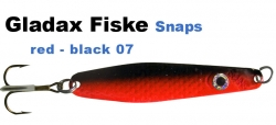 Gladsax Snaps Blinker - 30g - Schwarz / Rot