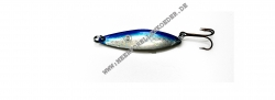 Flemmings Fiskegrej Boss Blinker 60 mm 16 g silber / blau