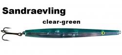 Sandgraevling - Clear-Green - 16g