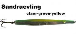 Sandgraevling - Clear-Green-Yellow - 20g