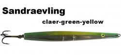 Sandgraevling - Clear-Green-Yellow - 20g