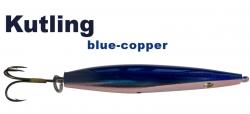 Kutling -  rot / kupfer metallic  / blau- 20g