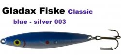 Classic-Wobbler - 75mm 16g - Blau / Silber