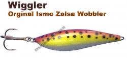 Ismo Zalsa Wobbler 20g Rot/gold/silber mit schwarzen Punkten