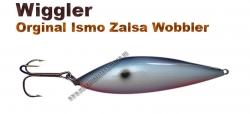 Ismo Zalsa Wobbler 20g schwarz/blau/weiß/ orange mit Punkt