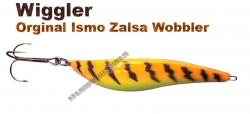 Ismo Zalsa Wobbler 20g Orange/gelb/Tiger