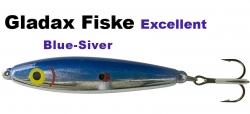 Excellent - Wobbler - 75mm 16g Blau/Chrom