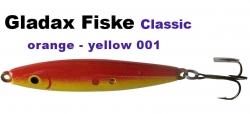 Classic-Wobbler - 75mm 16g - Rot / Gelb
