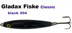Classic-Wobbler - 75mm 16g - Schwarz / Metallic Glitter