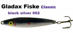 Classic-Wobbler - 75mm 16g - Schwarz / Pearl Weiß