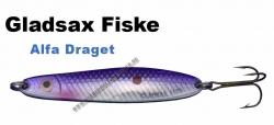 Gladsax - Alfa - Draget - 80mm   18g Lila/Silber/Reflex