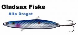 Gladsax - Alfa - Draget - 80mm   25g Blau/Silber/Reflex