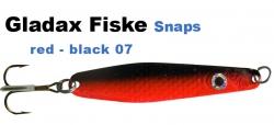 Gladsax Snaps Blinker - 20g - Schwarz / Rot