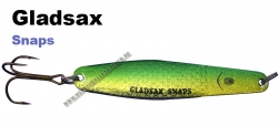 Gladsax Snaps Blinker - 20g - Flex Yellow Green