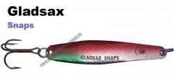 Gladsax Snaps Blinker - 20g - Flex Silber Rot